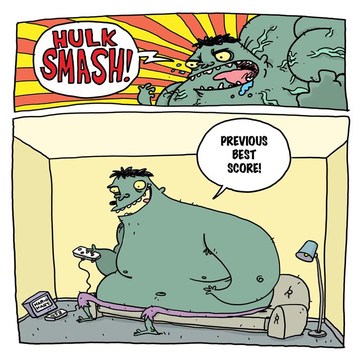 Hulk Smash by deanrankine