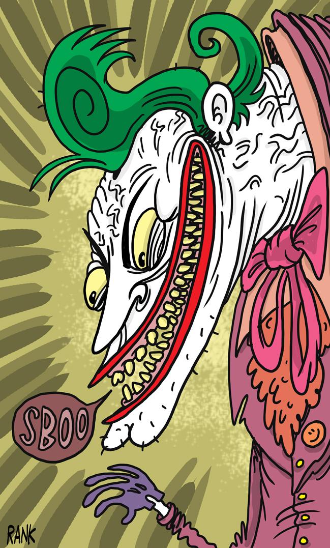 Joker by deanrankine