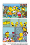 Thumb Wrestling - Page One (Bart Simpson #89)