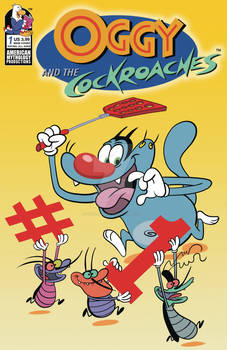 Oggy and the Cockroaches #1 Cover