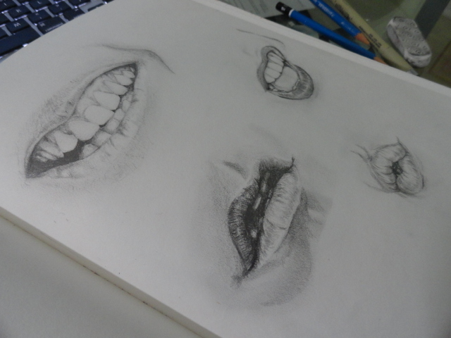 Lip Studies by ChuAne