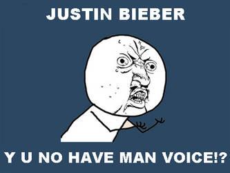 Y U NO: Justin Bieber
