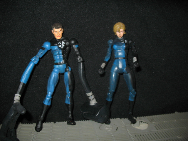 mr fantastic and wife by wotan03