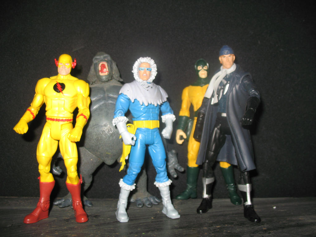 flash rogues by wotan03
