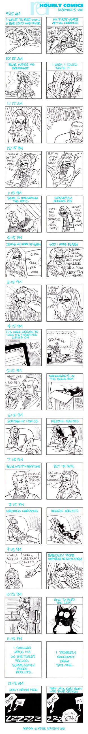 Hourly Comics - Dec5, 2010 by ren52