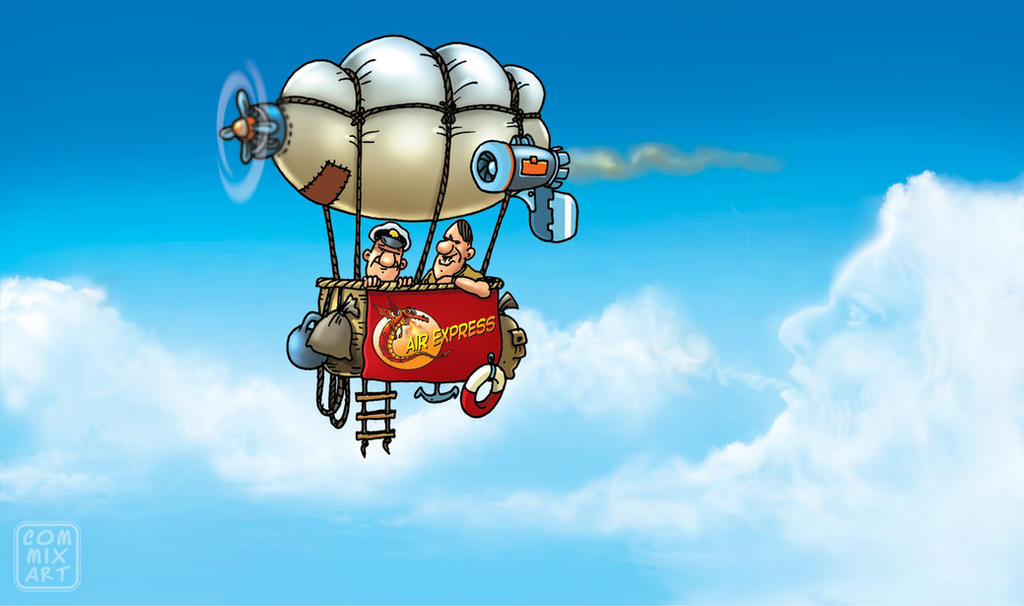 Cloud master and air express by Garri69