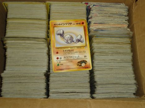 All My Pokemon Cards That I Had Back Then by LadyFangz