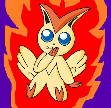 Victini (OLD) by LadyFangz