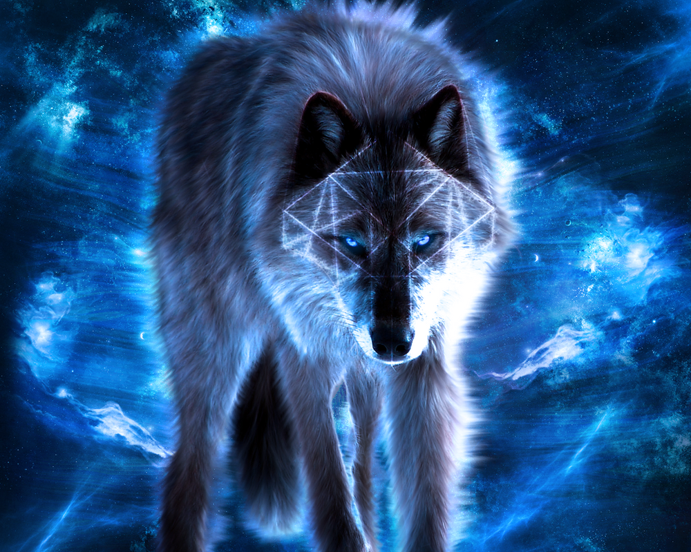 Blue Wolf By Matrix2525