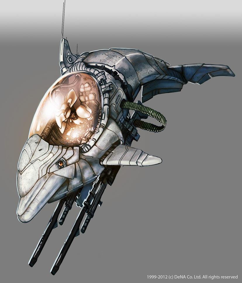 robot dolphin by raphelt on deviantart