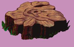Tree Stump by JadeRavenwing