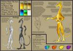The Davu: Species Sheet WIP
