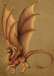 Pern Dragon Template: Commission