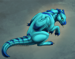Lil' Liresk: Commission by JadeRavenwing