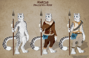 Marcus: Dracostryx Rider/Handler by JadeRavenwing