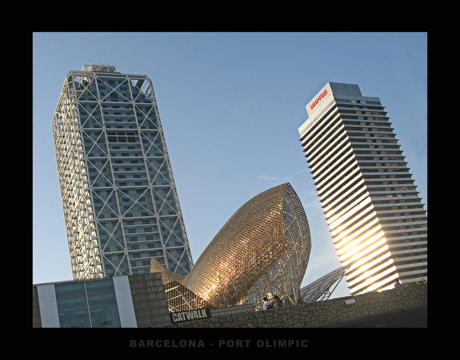 barcelona port olimpic 1 by VIRGILE3MBRUNOZZI