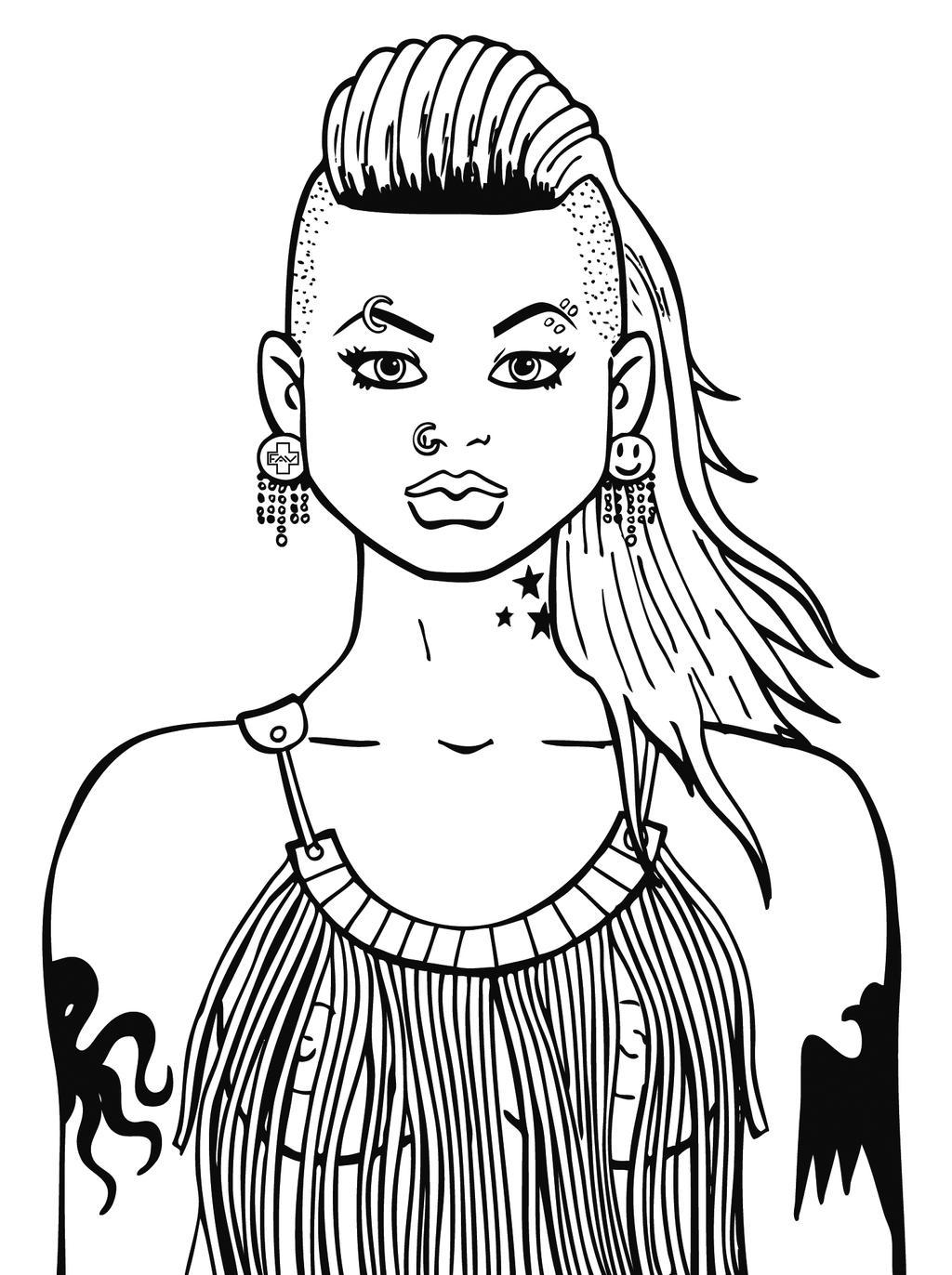 NICE GIRL by VIRGILE3MBRUNOZZI