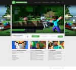 Layout Minecraft server - greenBlock