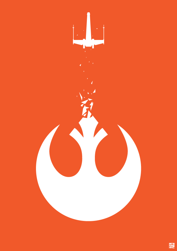 Star Wars Rebel Alliance Poster By Purakashi