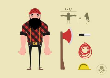 Lumberjack Character Sheet by purakashi