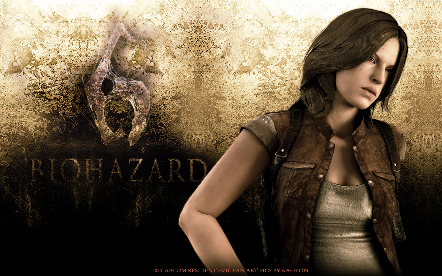 Re6 Helena Harper Wallpaper By Kaoyon On Deviantart