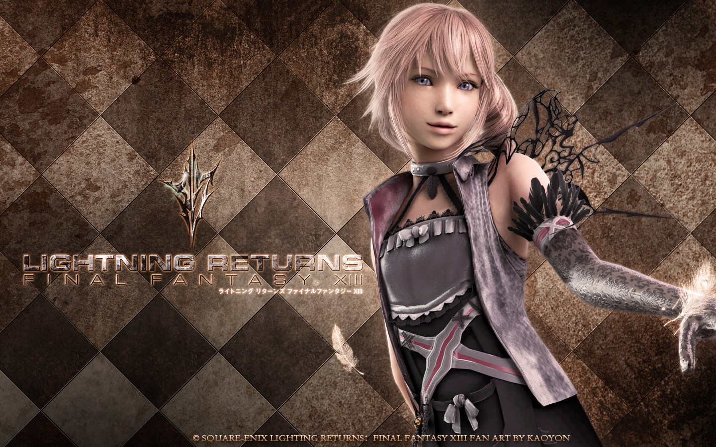 Lightning Returns Lumina FAN ART by kaoyon