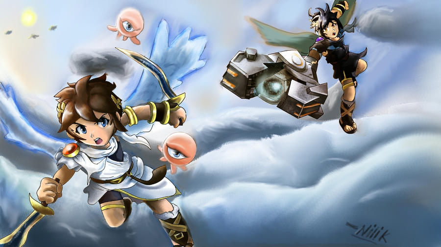 Kid Icarus Uprising By Kjshadows131