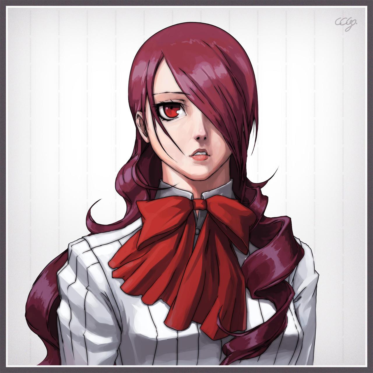 Persona 3 - Mitsuru Kirijo by Razputin93