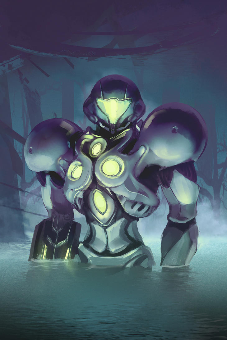 Metroid Prime 2 - Light Suit (with Time Lapse) by Razputin93