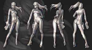 Other M - Zero Suit Samus by Razputin93