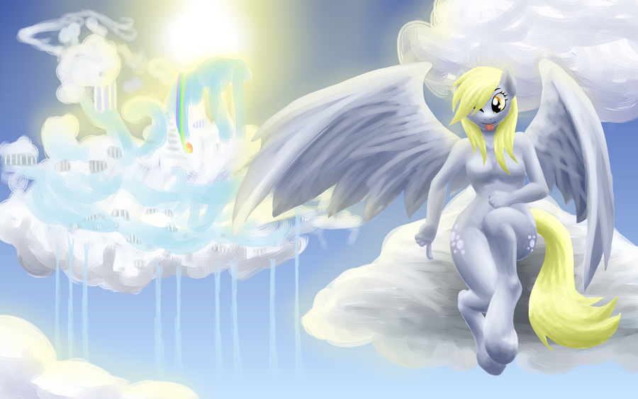 Derpy Hooves Muffin Wallpaper