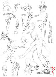 Study: Poses by The-Nai