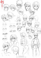study: Directing the eye by The-Nai