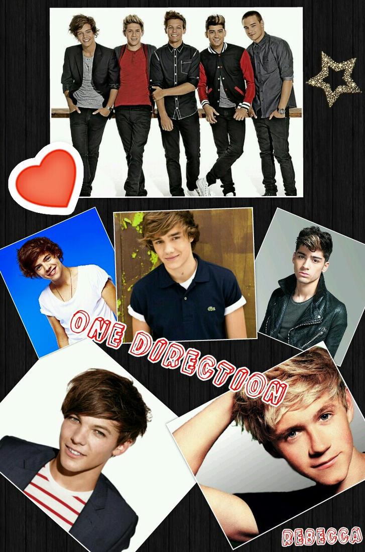 One Direction Collage by grandduchesscrazy on DeviantArtOne Direction 2013 Collage Wallpaper