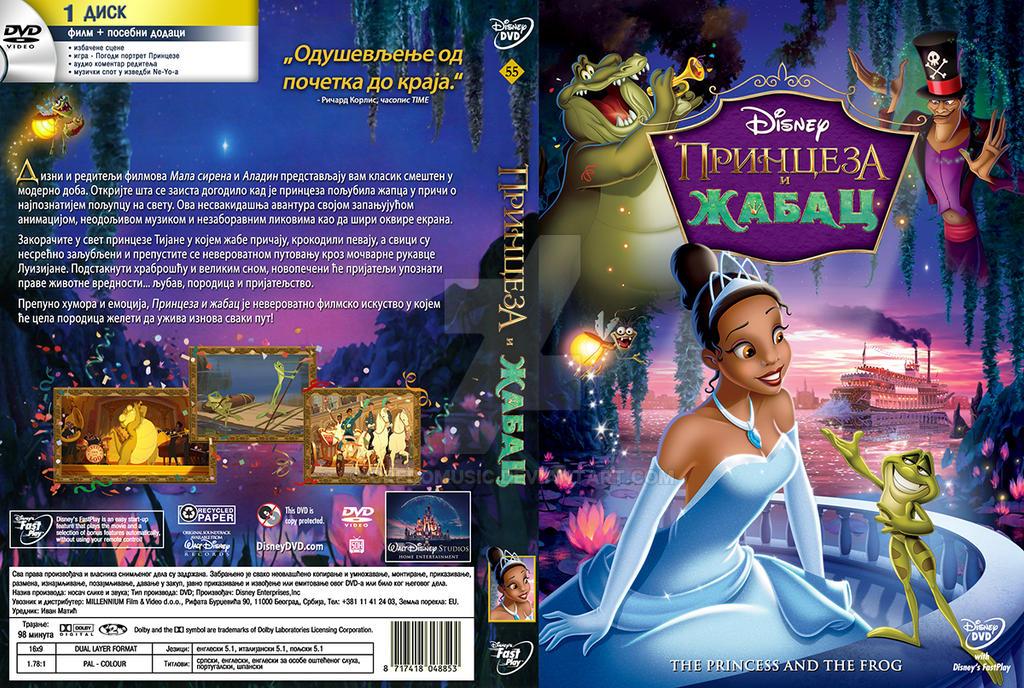 Princess And The Frog Dvd Cover | www.pixshark.com ...