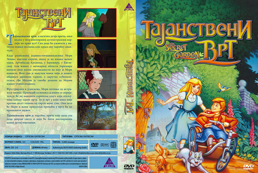 the secret garden tajanstveni vrt srpski dvd by credomusic