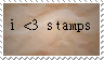 i love stamps stamp by lokifan20