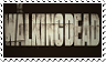 the walking dead stamp by lokifan50