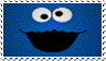 Cookie monster stamp by lokifan50