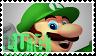 Luigi stamp by lokifan50