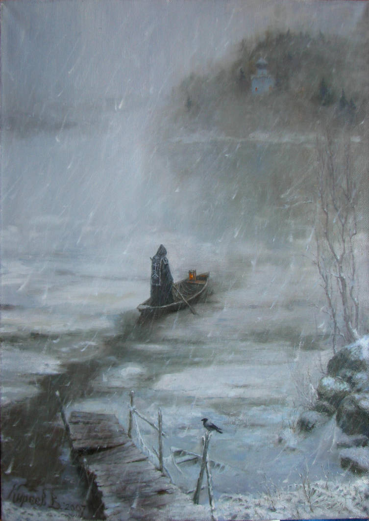 to the other side.. / 2007 / oil/canvas / 50x70cm