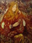The gold   /2012, oil/canvas /gilding 60x80 cm