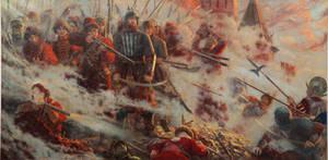 The wall. The defense of Smolensk (1609-1611) by Vladimir-Kireev
