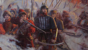 The wall. The defense of Smolensk(1609-1611)detail
