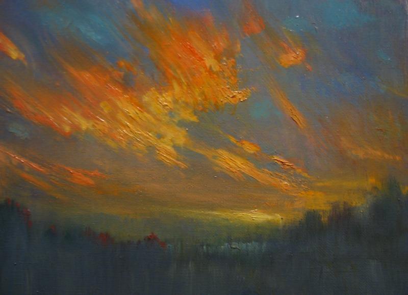 The fire of sky by Vladimir-Kireev
