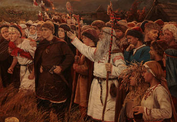 The Preaching (the fragment) by Vladimir-Kireev