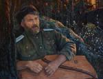 Byl. Portrait of Evgeny Buntov.
