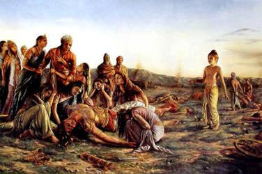 The end of Mahabharat by sanjay14