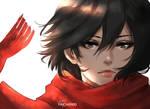 Mikasa : fanart