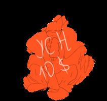 YCH Pony 10 Dollars by CrystalSpringLove